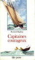 Couverture Capitaines courageux Editions Folio  (Junior) 1994