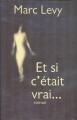 Couverture Et si c'était vrai..., tome 1 Editions France Loisirs 2000