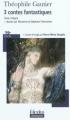 Couverture 3 contes fantastiques Editions Folio  (Plus classiques) 2011