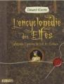 Couverture L'encyclopédie des Elfes d'après l'oeuvre de J.R.R. Tolkien Editions Le Pré aux Clercs 2008