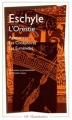 Couverture L'Orestie : Agamemnon, Les Choéphores, Les Euménides Editions Flammarion (GF) 2001