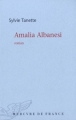 Couverture Amalia Albanesi Editions Mercure de France (Bleue) 2011