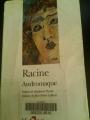Couverture Andromaque Editions Folio  (Théâtre) 1994