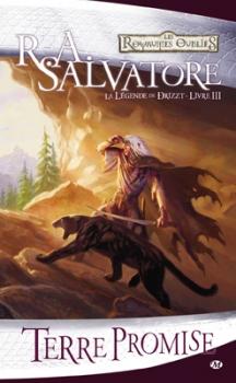 Couverture Les Royaumes Oubliés : La Légende de Drizzt, tome 03 : Terre Promise