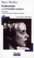 Couverture Frankenstein ou le Prométhée moderne / Frankenstein Editions Folio  (Plus classiques) 2008