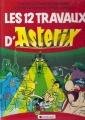Couverture Les 12 travaux d'Astérix / Les XII travaux d'Astérix Editions Dargaud 1982