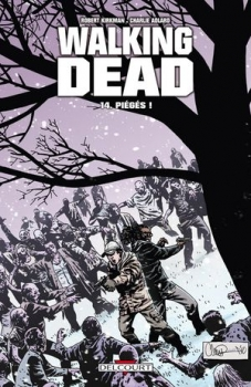 Couverture Walking Dead, tome 14 : Piégés !