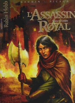 Couverture L'Assassin Royal (BD), tome 05 : Complot