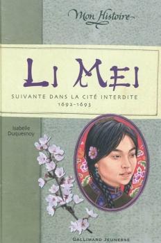 Couverture Li Mei : Suivante dans la cité interdite, 1692-1693