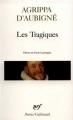 Couverture Les Tragiques Editions Gallimard  (Poésie) 2010