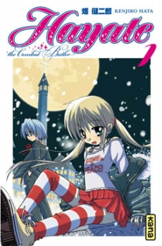 Couverture Hayate, the combat butler, tome 01