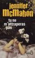 Couverture Tu ne m'attraperas pas Editions Belfond (Noir) 2010