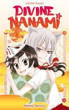Couverture Divine Nanami, tome 01
