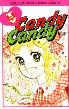 Couverture Candy Candy, tome 2