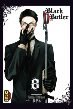 Couverture Black Butler, tome 08