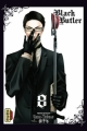 Couverture Black Butler, tome 08 Editions Kana (Dark) 2011