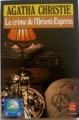 Couverture Le crime de l'orient-express Editions Le Livre de Poche 1986