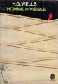 Couverture L'homme invisible Editions Le Livre de Poche 1979