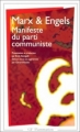 Couverture Manifeste du Parti communiste Editions Flammarion (GF) 1998
