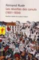 Couverture Les révoltes des canuts (1831-1834) Editions La découverte (Poche) 2007