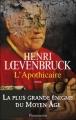 Couverture L'Apothicaire Editions Flammarion 2011