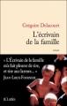 Couverture L'écrivain de la famille Editions JC Lattès 2011