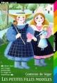 Couverture Les petites filles modèles Editions Folio  (Junior) 1997