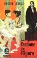 Couverture Le fantôme de l'opéra Editions Le Livre de Poche 1959