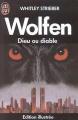 Couverture Wolfen, dieu ou diable Editions J'ai Lu (Edition illustrée) 1982