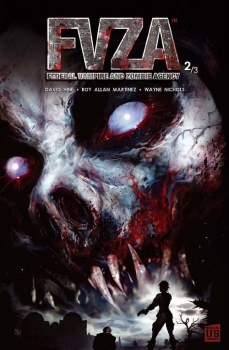 Couverture FVZA : Federal Vampire Zombie Agency, tome 2