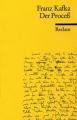 Couverture Le procès Editions Reclam (Universal Bibliothek) 1998