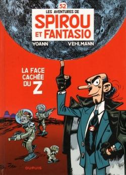 Couverture Spirou et Fantasio, tome 52 : La face cachée du Z