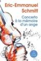 Couverture Concerto à la mémoire d'un ange Editions A vue d'oeil (18-19) 2010