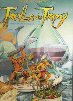 Couverture Trolls de Troy, tome 15 : Boules de poils, partie 1