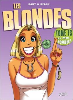 Couverture Les blondes, tome 13 : Ca porte bonheur !