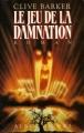 Couverture Le Jeu de la damnation Editions Albin Michel 1988