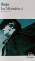 Couverture Les Misérables (2 tomes), tome 2 Editions Folio  (Classique) 2011