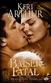 Couverture Riley Jenson, tome 06 : Baiser Fatal