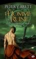 Couverture Le cycle des démons, tome 1 : L'homme rune Editions Milady 2011