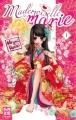Couverture Mademoiselle se marie, tome 01 Editions Kazé (Shôjo) 2011