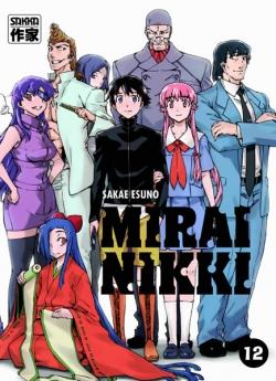Couverture Mirai Nikki, tome 12