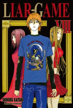 Couverture Liar game, tome 08