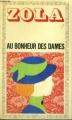 Couverture Au bonheur des dames Editions Garnier Flammarion 1971