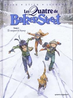 Couverture Les Quatre de Baker Street, tome 3 : Le rossignol de Stepney