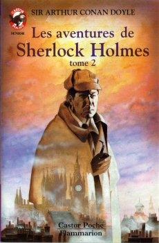 Couverture Les aventures de Sherlock Holmes (Castor Poche), tome 2