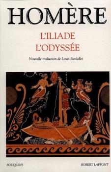 Couverture Iliade, Odyssée