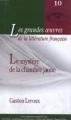 Couverture Le mystère de la chambre jaune Editions Paperview (Les grandes oeuvres de la littérature française) 2000