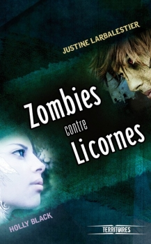 Couverture Zombies contre licornes