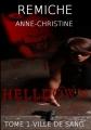 Couverture Helldown, tome 1 : Ville de Sang Editions Sharon Kena 2011