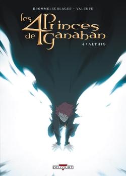 Couverture Les 4 Princes de Ganahan, tome 4 : Althis